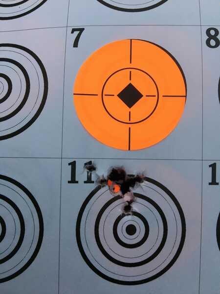 avenger 10 shot group