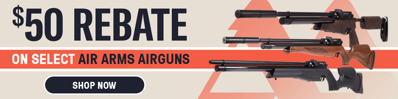 Pyramyd Airgun Mall | $50 Rebate on Air Arms