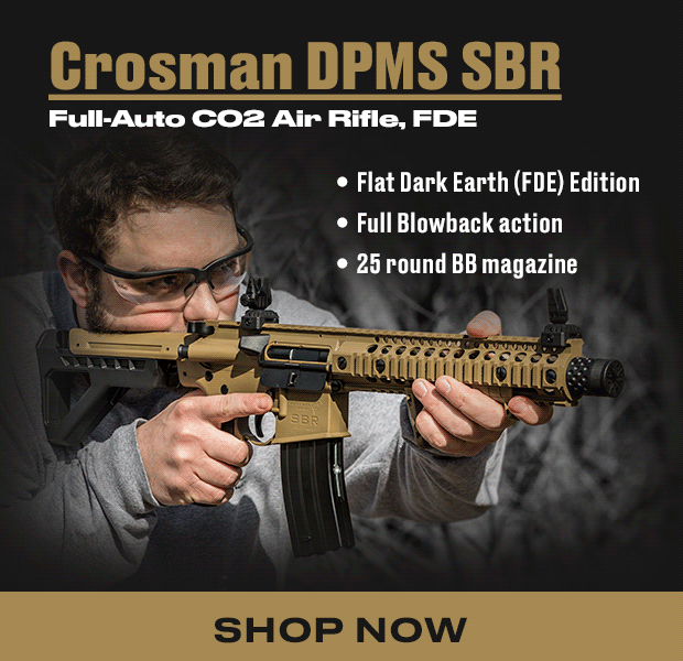 Pyramyd Air - Crosman DPMS: Flat Dark Earth Edition