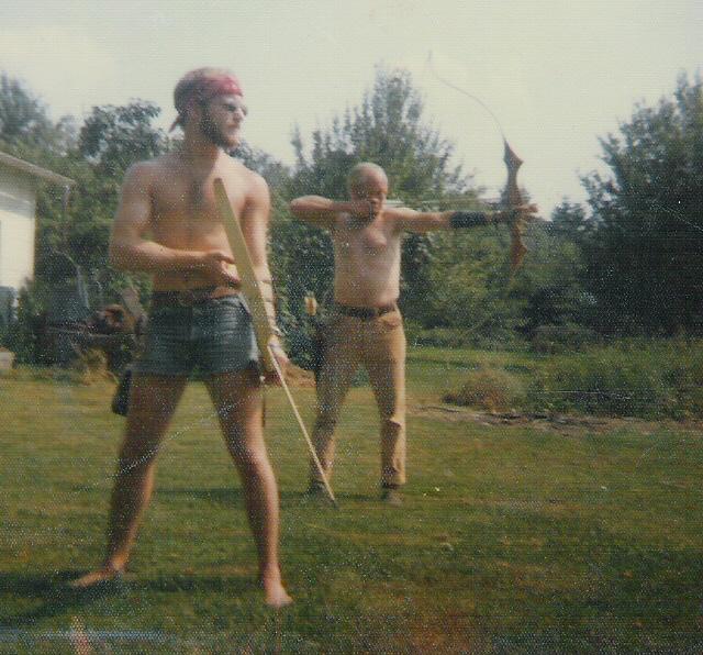 Ken & Dad Archery
