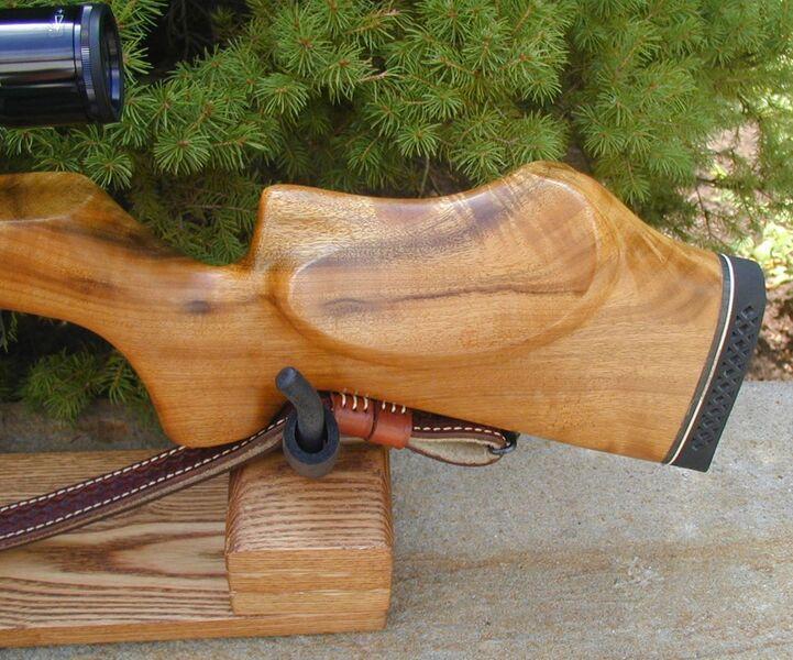 FWB 124 in KJH Rifle Cradle 5