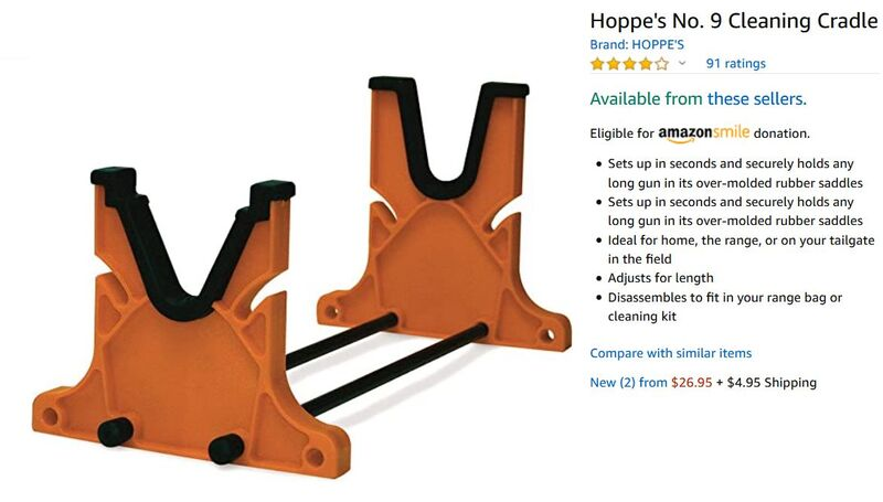 Hoppe's No.9 RIfle Cleaning Cradle