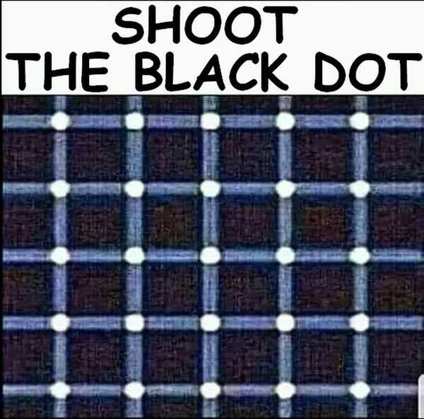 Shoot the Black Dot