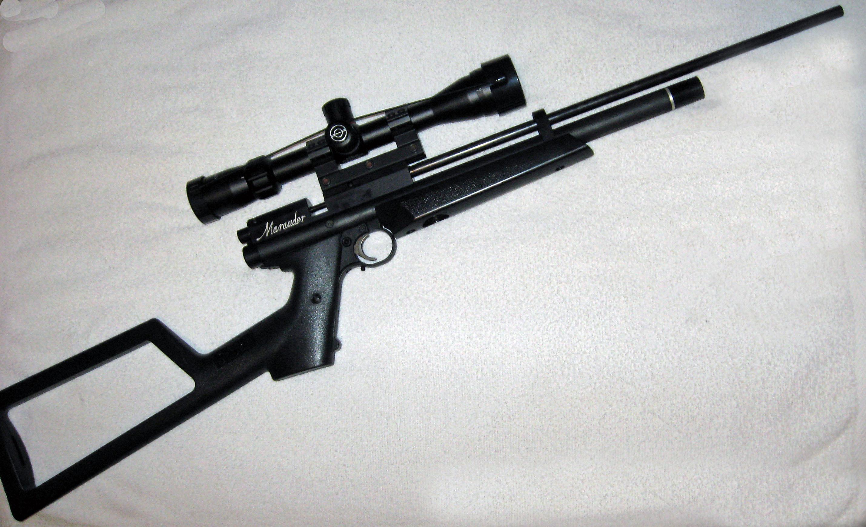 Marauder Pistol long barrel carbine  | Airgun Talk | Airgun
