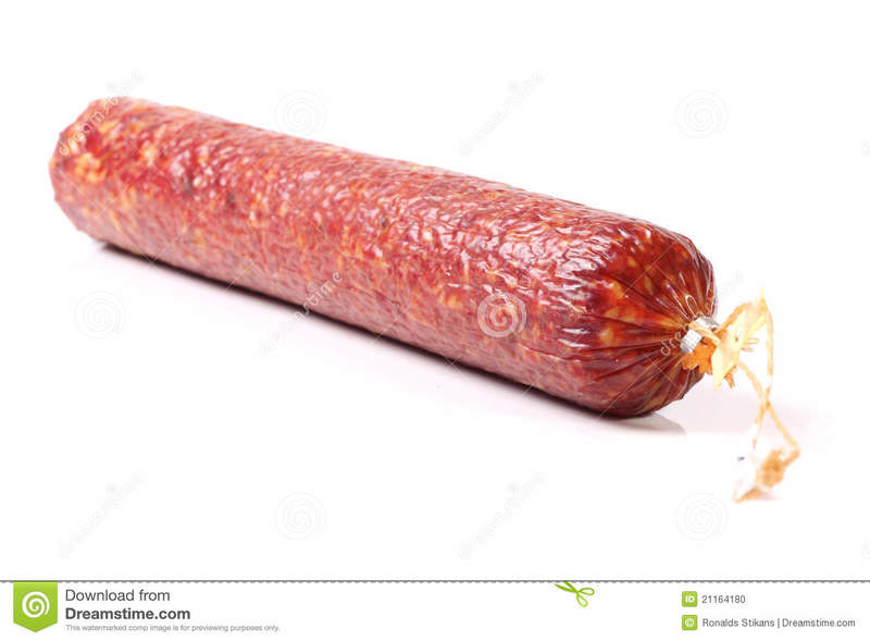 salami sausage stock photo image 21164180 mHLwHF clipart