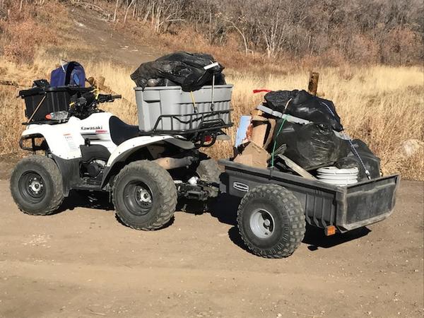 Trail clean