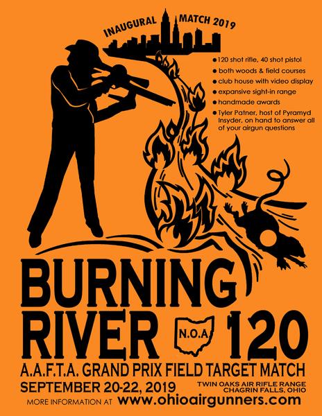 Northeast Ohio Airgunners | Burning River 120