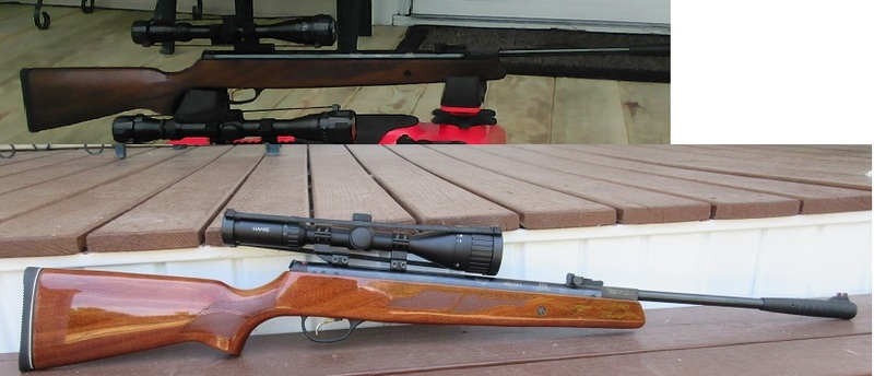Model 95 before and after