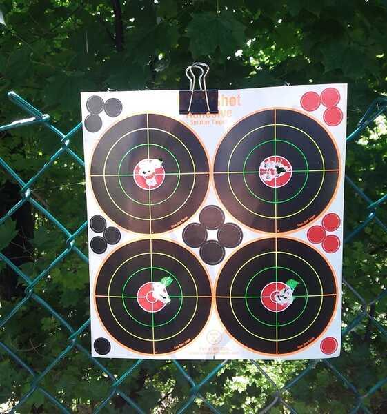 R7 Target 20 yards