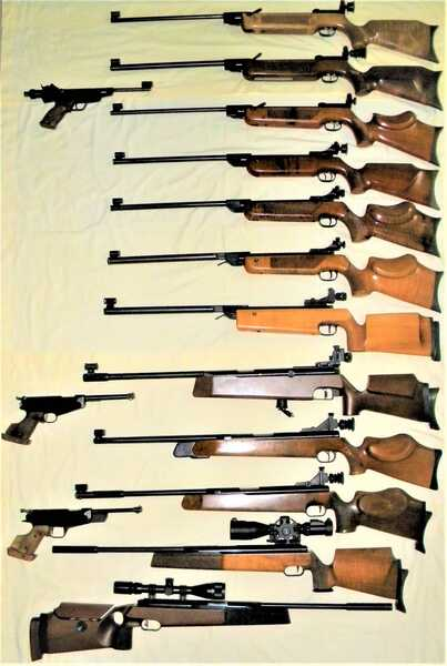 354 10 Meter montage HW55M, MM, Tyro, Walther LG55DST, Tyro, LGV Tyro, LGV Special, Diana 75B, FWB150 Tyro, 300S Tyro, Running Target v1, RB v3, pistols Beeman 800, FWB65, 80